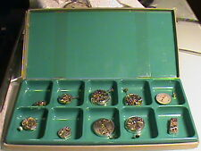 8 NEW OLD STOCK WRISTWATCH WIND-UP MOVEMENTS CYMA 458 & 424 AS 1123 TISSOT 2700