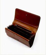 NWT PATRICIA NASH Heritage Tan Italian Leather Navia Wallet MSRP: $129.00