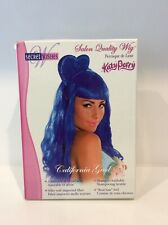 Blue Katy Perry California Girls Fringed Wig 24 Inches Long Cosplay Halloween