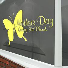 Día de la Madre Pared & Ventana Pegatinas Nuevo Calcomanías Tienda Pantalla A337