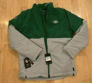 Nike SHIELD Men's NFL On Field New York Jets Parka BV7922-327 Size M~NWT