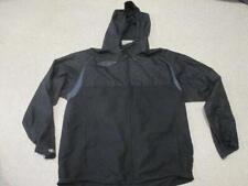 Umbro black zipped thin windproof coat hoodie top adult size xl