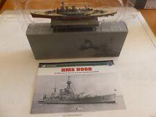 "HMS HOOD - PLANETA DeAGOSTINI ""ATLAS"" - METAL SMALL-SCALE MODEL"