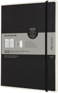 Moleskine - Smart Diary Pro, Electronic Portable Planner 2021, 12-Month Weekly x