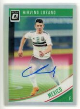 2018-19 HIRVING LOZANO AUTO PANINI DONRUSS OPTIC SILVER AUTOGRAPHS