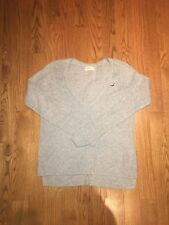 HOLLISTER women's grey sweater size xS/S oversized comfy long sleeves