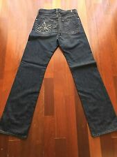 New 7 Seven For All Mankind Men's Austyn Jeans Made In USA 28 X 32 80% Off