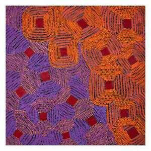 Aboriginal Painting - Lukarrara Jukurrpa 76 x 76cm