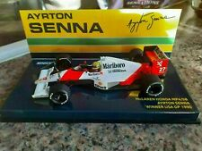 Minichamps 1:43 McLaren MP4/5B Ayrton Senna - Winner US GP 1990 (Marlboro)