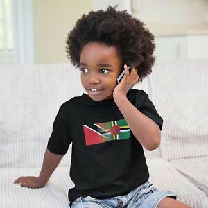 Childrens Trinidad & Dominica Tshirt, Mixed Race, Kids Tees, Birthday, Christmas
