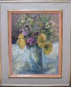 Flower Oil Circa 1970 James Carlisle (b.1937) Modern British Impressionism
