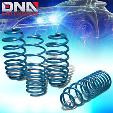 FOR 10-13 JDM NISSAN MARCH/MICRA COIL SUSPENSION BLUE RACING LOWERING SPRINGS