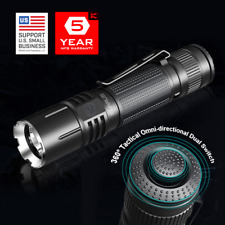 Klarus 360X1 Flashlight – 1800 LM Programmable Omnidirectional Dual Ring Switch