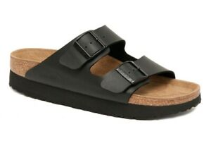 PAPILLIO Birkenstock Sandals ARIZONA black Platform narrow 1013577 NEW RARE