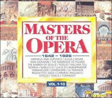 Masters of the Opera 1642-1926 1-10 by Various Artists