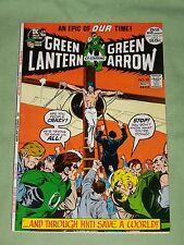 GREEN LANTERN Co-Starring GREEN ARROW #89-1972, Neal Adams Artwork, Fine-VF