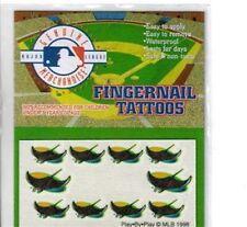 MLB Fingernail Tattoos Tampa Bay Rays
