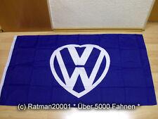 Fahnen Flagge VW ich Liebe dich Neu - 90 x 150 cm
