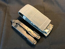 Gerber Multi-Tool Knife Blade Pliers Stainless Tool With Camo Pouch Made In USA