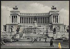 AA0825 Roma - Città - Altare della Patria - Animata