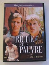DVD LE RICHE ET LE PAUVRE - Peter STRAUSS / Nick NOLTE - N°6 - 2 EPISODES