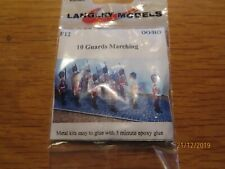 "LANGLEY MODELS F12 10 Guards Marching  00/HO   ""~*"