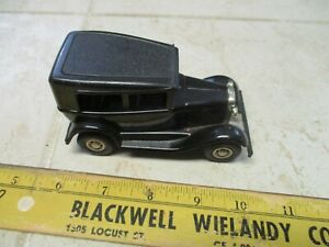 VTG Tonka Toys Rat-A-Tat-Tat Black Pressed Steel Car Vehicle Gangster Hot Rod