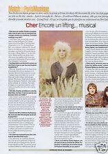 Coupure de presse Clipping 2001 Cher   (1 page)