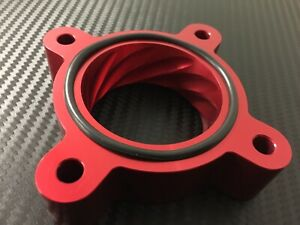 RED Throttle Body Spacer for 2012 - 2015 Toyota SCION iQ 1.3l
