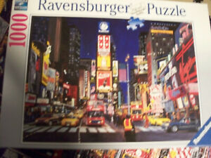 Ravensburger Times Square NYC New York City Jigsaw Puzzle 1000 Piece