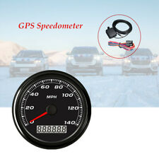 85MM Mounting Holes GPS 140MPH Speedometer Gauge Car Motorcycle Backlight
