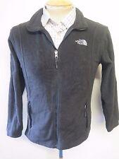 North Face Mid-weight Polartec Full Zip Fleece - XS UK 6/8 Euro 34-36 Black