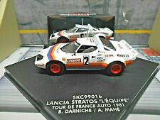 LANCIA Stratos HF Rallye Tour France 1981 Winner Darniche L´Equipe Vitesse 1:43