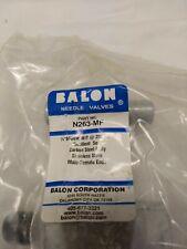 BALON N263-MF Needle Valve 1/4