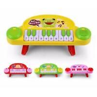 Piano E Tamburo Musicale Giocattoli Bambino Per Infante Colore a Caso Top