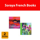 Soraya French 2 Books Collection Set Contemporary Landscapes, Learn Acrylics NEW