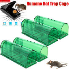 Lot Mouse Rat Trap Cage Animal Pest Rodent Mice Bait Catch Capture Humane 2 Type