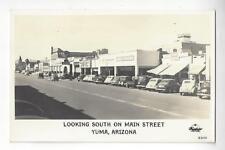 Yuma, Arizona, Looking South On Main Street RPPC