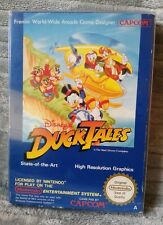 DISNEY'S DUCK TALES FOR NINTENDO NES PAL A VERSION COMPLETE