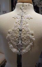 Vestido de encaje Floral Algodón y apliques coser motivo de Encaje Varios Colores vendedor del Reino Unido