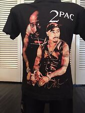 VTG Tupac All Eyez Tour Shirt Sz M/L 2 Pac Rap Hip Hop Death Row Wu Tang Ice Dre