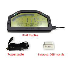 Car Dash Race Display OBD2 Bluetooth Dashboard LCD Screen Digital Gauge Moulding