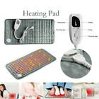 """Ultra Soft Heating Pad For Back Pain Relief Moist and Dry Heat Therapy 12""""x24"""""""