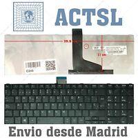 Teclado Español para Toshiba Satellite C855-2CK