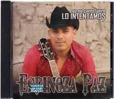 CD - Espinoza Paz NEW Yo No Canto Pero Lo Intentamos FAST SHIPPING !