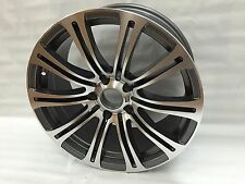 "Silver 18"" STAGGERED M3 WHEEL RIMS F10 FITS BMW 5 SERIES XDRIVE 535I 550I 535XI"