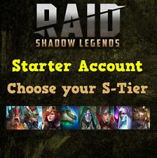 Raid Shadow Legends Starter Account - Choose Your S-Tier!