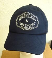 NEW RIEGEL CAFE baseball cap Ohio barbecue hat BBQ chicken & ribs snapback OG