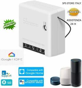 Sonoff Mini Diy 2 Canali Domotica Wifi Alexa Google Home Interruttore Deviatore