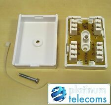 BT 77A 3 PAIR 6 WAY IDC INTERNAL TELEPHONE CABLE JUNCTION CONNECTION BOX BT77A